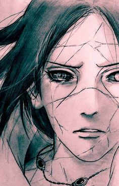 Uchiha Itachi. This is amazing I wish I can draw that well