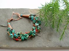 Nebula  Multi strand bracelet by Abbyjewellery on Etsy, $41.25