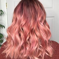 "209 Likes, 3 Comments - Ellen Horwath Hair (@ellenhorwath) on Instagram: ""Rosy"""