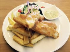 beer battered fish @cafe_sia