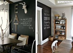 Ideas for the dining area.