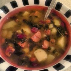 Cooking Lite with 2 Broke Girls: Old School Portuguese Soup