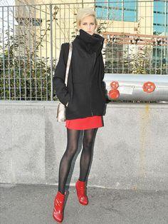 パリコレ前哨戦! 2011秋冬コレクションのモデルスナップ@ミラノ