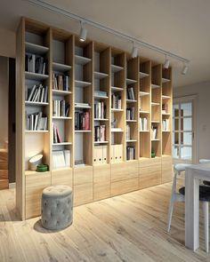 23 Trendy Home Office Built Ins Bookshelves Reading Nooks Home Library Design, Home Office Design, Home Interior Design, House Design, Bookshelf Design, Bookshelves Built In, Built In Desk, Bookcase, Office Built Ins