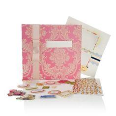 "Anna Griffin® 12"" x 12"" Elegant Instant Scrapbook Kit at HSN.com."
