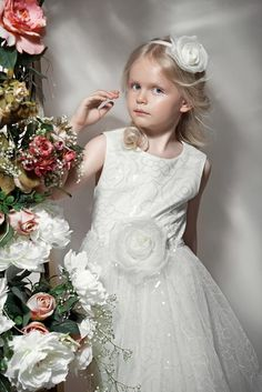 Want something different for your flower girl? Check out Papilio's ceremony collection with a variety of tulle, lace and embroidered dresses  #papiliokids #girlsfashion #kidsfashion #flowergirl #stylish #littlefashionista #ceremonycollection
