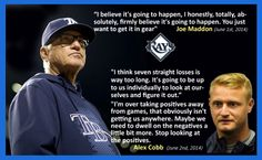 Tampa Bay Rays - Well said young Cobb! The most intelligent statement I've heard lately!