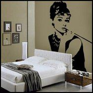 1000 images about girls room on pinterest theme for Audrey hepburn bedroom designs
