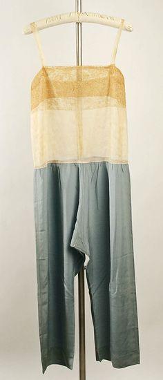 // Callot Soeurs, 1926–27, silk