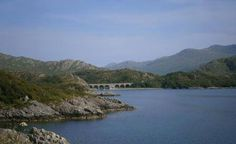 Between Fort William and Mallaig (Scotland)