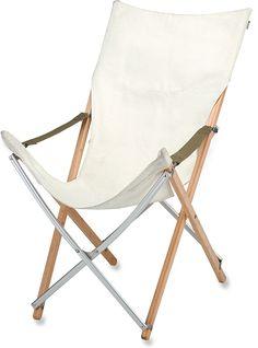 $215.95  Snow Peak Take Bamboo Long-Back Chair