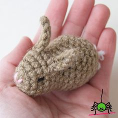 About This Pattern   There is nothing cuter than a baby bunny — with tiny ears and fluffy little tails, these little sweeties make perfect...