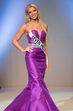 Carissa Morrow, Miss Nevada Teen USA 2016 evening gown Pageant Wear, Pageant Dresses, Formal Dresses, Miss Nevada, Teen Usa, Beauty Queens, My Beauty, I Dress, Evening Gowns