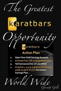 Gold in small units from Karatbars International Home Based Business, Online Business, Investment Portfolio, Business Opportunities, Extra Money, Helping Others, Wealth, How To Make Money, Finance