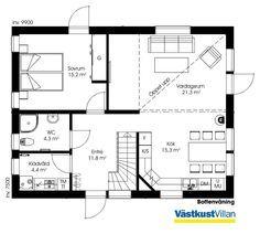 max haus 1 geschossig smaland houses pinterest smaland aufteilung und schwedenhaus. Black Bedroom Furniture Sets. Home Design Ideas