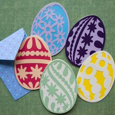 Easter Eggs SVG Collection - $5.99 : SVG Files for Sure Cuts A Lot - SVGCuts.com