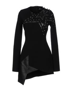 Anthony Vaccarello Women Short Dress on YOOX. The best online selection of Short Dresses Anthony Vaccarello. YOOX exclusive items of Italian and international designers - Secure payments Dress For Short Women, Short Dresses, Anthony Vaccarello, Blouse, Long Sleeve, Dress Black, Sleeves, Shopping, Color