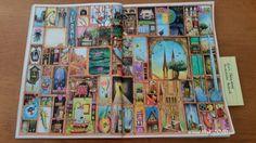 Von Colin Thompsons fantastisches Malbuch Seite 7, gemalt mit Koh-I-Noorfarben, und ergo-soft stifte