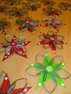 Christmas Arts and Crafts with Paper - Best Of Christmas Arts and Crafts with Paper , Easy Christmas Paper Crafts Paper Towel Roll Crafts, Toilet Paper Roll Art, Rolled Paper Art, Toilet Paper Roll Crafts, Christmas Arts And Crafts, Christmas Activities, Holiday Crafts, Christmas Crafts, Christmas Decorations