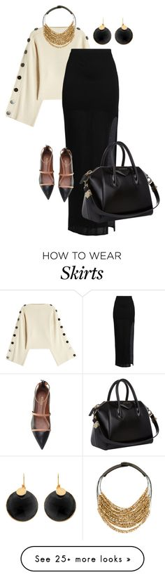 """Untitled #339"" by tanya-gosnell-brewer on Polyvore featuring Petar Petrov, Helmut Lang, Malone Souliers, Givenchy and Fairchild Baldwin"