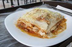 La Lasagna hecja en casa en Mi Bella Italia http://www.queremoscomer.com/restaurantes/comida-italiana/mixcoac-aguilas/mi-bella-italia/?utm_content=buffer23bd7&utm_medium=social&utm_source=pinterest.com&utm_campaign=buffer #Antojos
