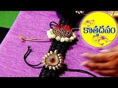 Poola Jada Coins Making with rose & jasmine buds - Poola Jada Expert Kumari || Kothadanam || Navya - YouTube