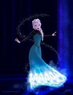 Frozen - Elsa by Mongoft on DeviantArt
