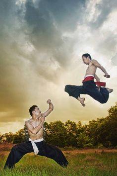 Pencak Silat martial arts