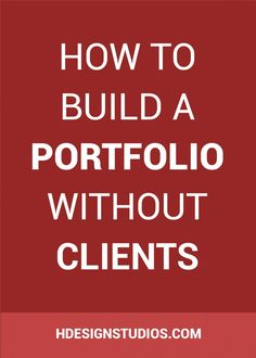 Are you knew to freelancing and looking to build a portfolio? Click through to find out How to Build a Portfolio Without Clients.