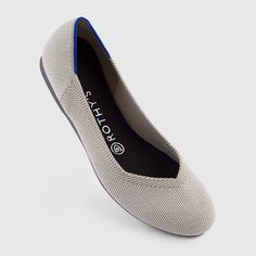 Rothy's Flax Birdseye Size 9 Women's Flats: Washable, Round Toe Ballet Flats for Women Strappy Flats, Slingback Flats, Pointed Toe Flats, Loafer Flats, Oxfords, Rothys Shoes, Your Shoes, Flat Shoes, Shoes Sneakers