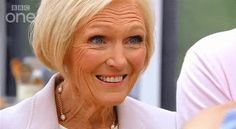 """Pin for Later: 9 Mary Berry Faces We All Pull Occasionally When Someone Says They're Going to Make the """"Healthy"""" Version of a Bake"""