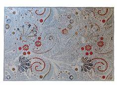 Tappeto tessuto a mano da salotto, camera da letto 160x230 Loft Collection KIA rosso tappeto vintage moderno...in offerta !