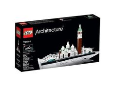 LEGO Architect 21026 Venice NISB New in Sealed Box RETIRED Box MayNot Be Perfect