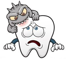 What causes Cavities are caused by the tooth decay which goes unnoticed. A routine dental checkup with your dentist will ensure you that tooth decay is caught in its early stage and avoided altogether. Clipart Dental, Tooth Clipart, Teeth Images, Teeth Pictures, Oral Health, Dental Health, Health Care, Tooth Decay Pictures, Tooth Cartoon