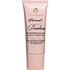Too Faced Primed & Poreless Skin Smoothing Face Primer is one of my favorite products - it really delivers visible results