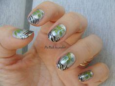 Tropical Jungle Nails by Pinnails