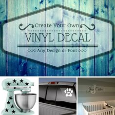 Pin By Kelly Carlson On Color Your Own Stickers Pinterest - How to make your own car decals at home