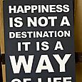 Happiness is not a destination picture