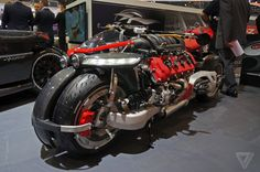 This is the insane motorcycle of Batman's wildest dreams | The Verge
