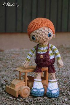 Rudy The Redhead Amigurumi Pattern