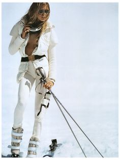 Yep....This is exactly what I look like when I go snow skiing.....said NO ONE EVER!!!!!