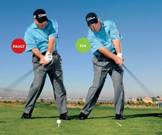 Butch Harmon's tip to avoid pushing your shots.