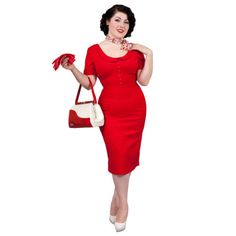 5b14843848a243 Glamour Bunny Pan Pinup Vintage Hourglass 1950s Fitted Pencil Wiggle Dress  UK