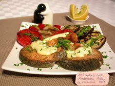 Somon in crusta aromata, la cuptor by stefanpizza