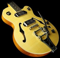 Outlet offer Epiphone Wildkat Archtop Electric Guitar, Bigsby Vibrotone Hardware, Antique Natural.