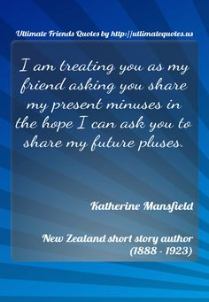 #KatherineMansfield by #UltimateQuotes