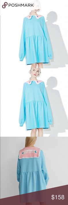 Lazy Oaf X Disney Cinderella Sweater Dress Brand new , never been worn. The price is firm ! Lazy Oaf Dresses Mini