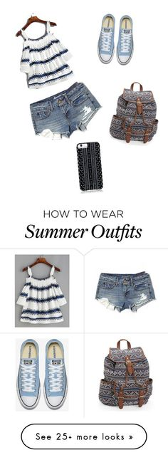 "Summer Outfits : ""Summer Cute"" by rachel-dohh on Polyvore featuring American Eagle Outf"
