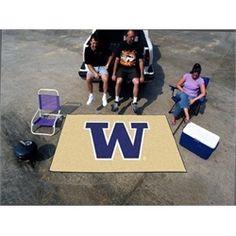 University of Washington 5' x 8' Tailgating Area Rug