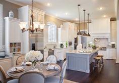 Highland Homes | Creekside | Kitchen | The Woodlands, TX | Plan 296